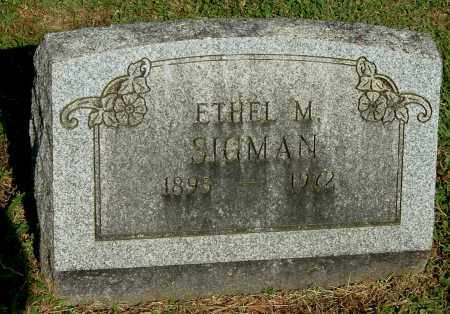 SIGMAN, ETHEL M - Gallia County, Ohio | ETHEL M SIGMAN - Ohio Gravestone Photos