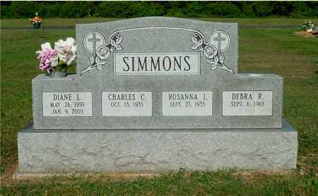SIMMONS, ROSANNA I - Gallia County, Ohio | ROSANNA I SIMMONS - Ohio Gravestone Photos