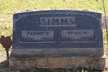 SIMMS, ELIAS M - Gallia County, Ohio | ELIAS M SIMMS - Ohio Gravestone Photos