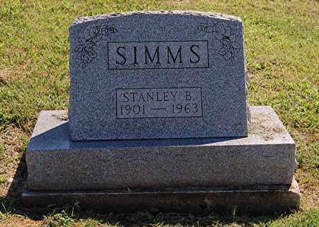 SIMMS, STANLEY B - Gallia County, Ohio | STANLEY B SIMMS - Ohio Gravestone Photos