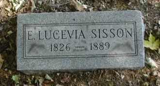 SISSON, E. - Gallia County, Ohio | E. SISSON - Ohio Gravestone Photos