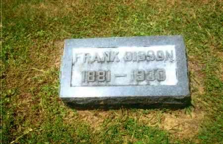 SISSON, FRANK J. - Gallia County, Ohio   FRANK J. SISSON - Ohio Gravestone Photos