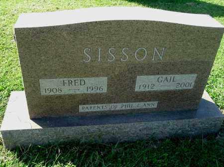 SISSON, FRED - Gallia County, Ohio | FRED SISSON - Ohio Gravestone Photos