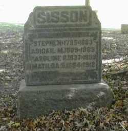 SISSON, STEPHEN - Gallia County, Ohio | STEPHEN SISSON - Ohio Gravestone Photos