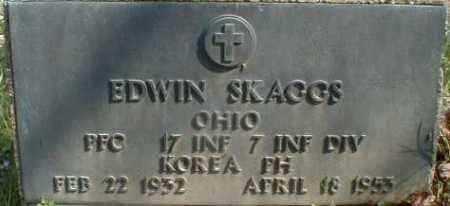 SKAGGS, EDWIN - Gallia County, Ohio | EDWIN SKAGGS - Ohio Gravestone Photos