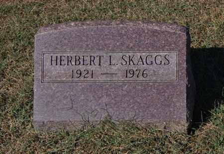 SKAGGS, HERBERT L - Gallia County, Ohio   HERBERT L SKAGGS - Ohio Gravestone Photos