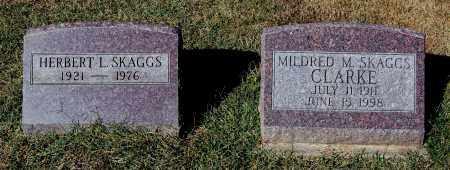 CLARKE SKAGGS, MILDRED M - Gallia County, Ohio | MILDRED M CLARKE SKAGGS - Ohio Gravestone Photos