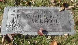 SKIDMORE, SARAH - Gallia County, Ohio   SARAH SKIDMORE - Ohio Gravestone Photos
