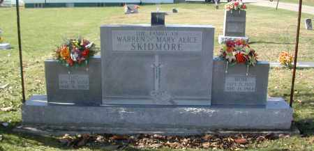 SKIDMORE, WARREN - Gallia County, Ohio | WARREN SKIDMORE - Ohio Gravestone Photos