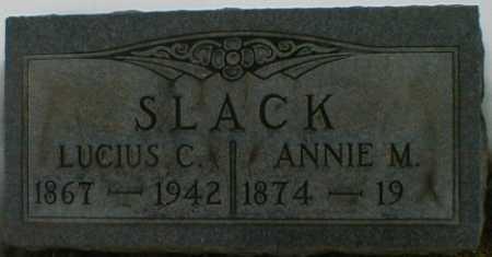 SLACK, ANNIE - Gallia County, Ohio   ANNIE SLACK - Ohio Gravestone Photos