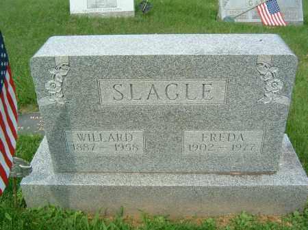 SLAGLE, WILLARD - Gallia County, Ohio | WILLARD SLAGLE - Ohio Gravestone Photos