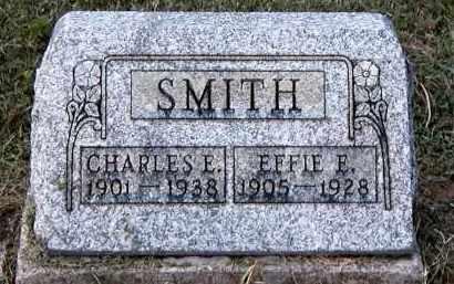 SMITH, CHARLES E - Gallia County, Ohio | CHARLES E SMITH - Ohio Gravestone Photos