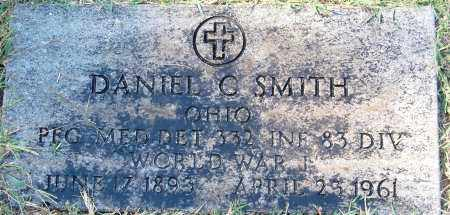 SMITH, DANIEL C - Gallia County, Ohio | DANIEL C SMITH - Ohio Gravestone Photos