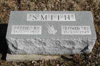 SMITH, EFFIE B. - Gallia County, Ohio   EFFIE B. SMITH - Ohio Gravestone Photos