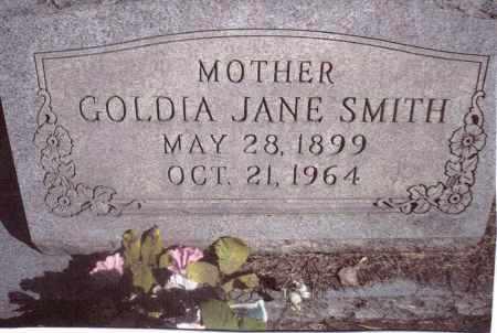 SMITH, GOLDIA JANE - Gallia County, Ohio | GOLDIA JANE SMITH - Ohio Gravestone Photos