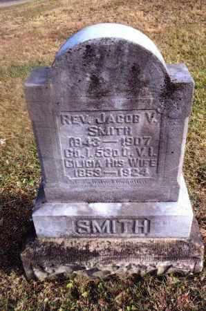 SMITH, JACOB V. - Gallia County, Ohio | JACOB V. SMITH - Ohio Gravestone Photos