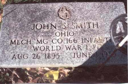 SMITH, JOHN S. - Gallia County, Ohio | JOHN S. SMITH - Ohio Gravestone Photos