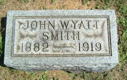 SMITH, JOHN WYATT - Gallia County, Ohio | JOHN WYATT SMITH - Ohio Gravestone Photos