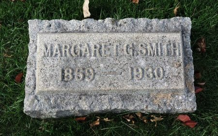 SMITH, MARGARET G - Gallia County, Ohio | MARGARET G SMITH - Ohio Gravestone Photos