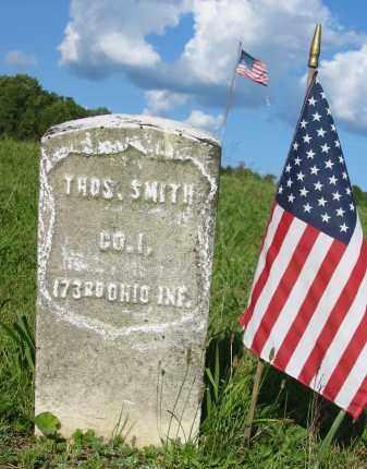 SMITH, THOMAS - Gallia County, Ohio | THOMAS SMITH - Ohio Gravestone Photos