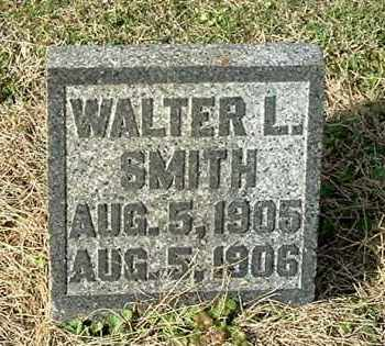 SMITH, WALTER L - Gallia County, Ohio | WALTER L SMITH - Ohio Gravestone Photos