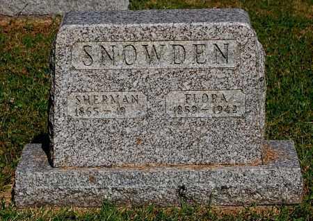 SNOWDEN, SHERMAN - Gallia County, Ohio | SHERMAN SNOWDEN - Ohio Gravestone Photos
