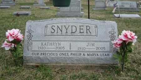 SNYDER, KATHRYN - Gallia County, Ohio   KATHRYN SNYDER - Ohio Gravestone Photos