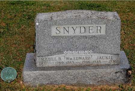 SNYDER, MABEL B - Gallia County, Ohio | MABEL B SNYDER - Ohio Gravestone Photos