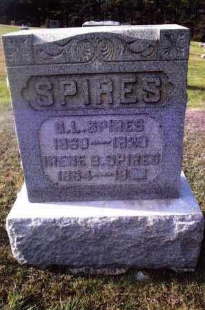 SPIRES, GEORGE LEWIS - Gallia County, Ohio | GEORGE LEWIS SPIRES - Ohio Gravestone Photos