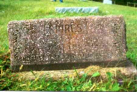 SPIRES, IVA - Gallia County, Ohio | IVA SPIRES - Ohio Gravestone Photos