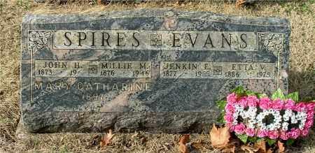 EVANS, JENKIN E - Gallia County, Ohio | JENKIN E EVANS - Ohio Gravestone Photos