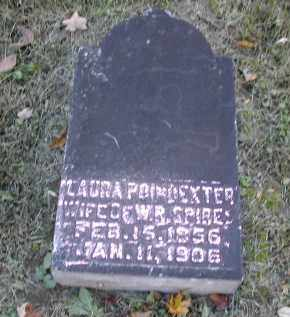 POINDEXTER SPIRES, LAURA - Gallia County, Ohio | LAURA POINDEXTER SPIRES - Ohio Gravestone Photos