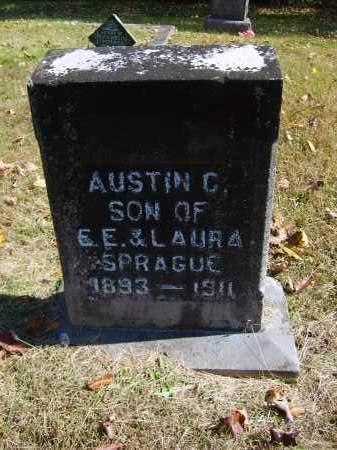 SPRAGUE, AUSTIN - Gallia County, Ohio   AUSTIN SPRAGUE - Ohio Gravestone Photos