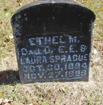 SPRAGUE, ETHEL - Gallia County, Ohio | ETHEL SPRAGUE - Ohio Gravestone Photos