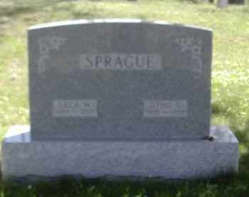 SPRAGUE, OTHO - Gallia County, Ohio | OTHO SPRAGUE - Ohio Gravestone Photos