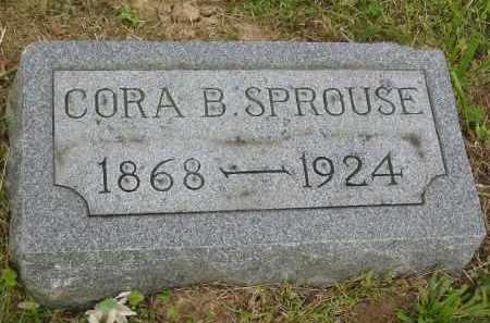 SPROUSE, CORA B. - Gallia County, Ohio | CORA B. SPROUSE - Ohio Gravestone Photos