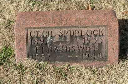 SPURLOCK, CECIL - Gallia County, Ohio | CECIL SPURLOCK - Ohio Gravestone Photos
