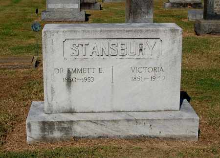STANSBURY, VICTORIA - Gallia County, Ohio | VICTORIA STANSBURY - Ohio Gravestone Photos