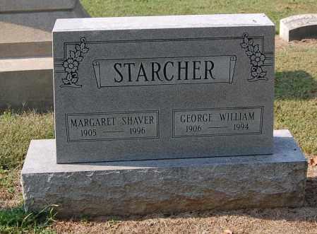 STARCHER, GEORGE WILLIAM - Gallia County, Ohio   GEORGE WILLIAM STARCHER - Ohio Gravestone Photos