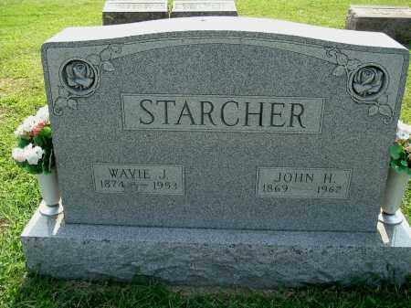 KING STARCHER, WAVIE JANE - Gallia County, Ohio | WAVIE JANE KING STARCHER - Ohio Gravestone Photos