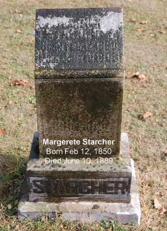 STARCHER, MARGERETE - Gallia County, Ohio | MARGERETE STARCHER - Ohio Gravestone Photos