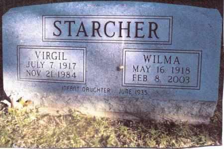 STARCHER, VIRGIL - Gallia County, Ohio | VIRGIL STARCHER - Ohio Gravestone Photos