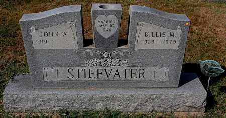 STIEFVATER, BILLIE M - Gallia County, Ohio | BILLIE M STIEFVATER - Ohio Gravestone Photos