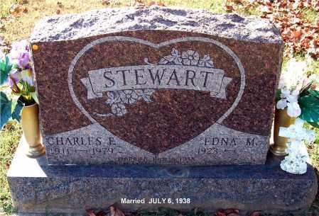 STEWART, EDNA M - Gallia County, Ohio | EDNA M STEWART - Ohio Gravestone Photos