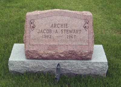 STEWART, JACOB ARCHIE - Gallia County, Ohio | JACOB ARCHIE STEWART - Ohio Gravestone Photos