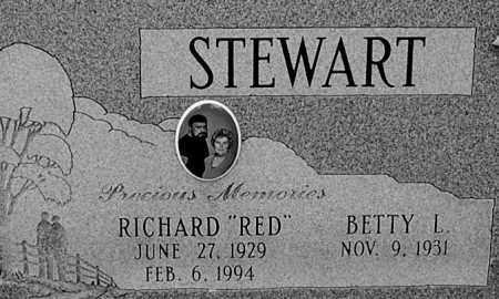 STEWART, BETTY L (CLOSE-UP) - Gallia County, Ohio | BETTY L (CLOSE-UP) STEWART - Ohio Gravestone Photos