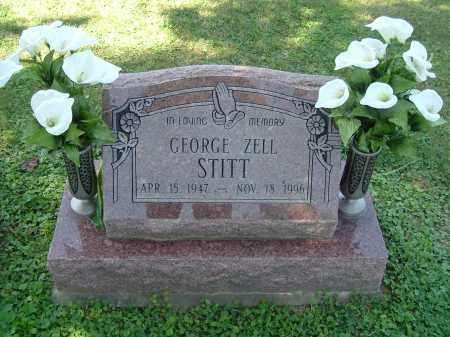 STITT, GEORGE ZELL - Gallia County, Ohio | GEORGE ZELL STITT - Ohio Gravestone Photos
