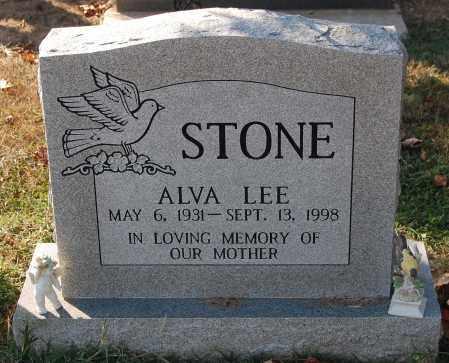 STONE, ALVA LEE - Gallia County, Ohio   ALVA LEE STONE - Ohio Gravestone Photos