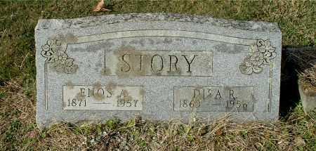 STORY, ENOS A - Gallia County, Ohio   ENOS A STORY - Ohio Gravestone Photos