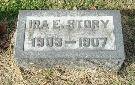 STORY, IRA E - Gallia County, Ohio | IRA E STORY - Ohio Gravestone Photos